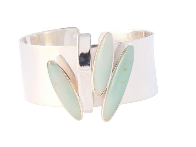 blauw opaal armband