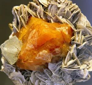 Fotoreportage van mineralen